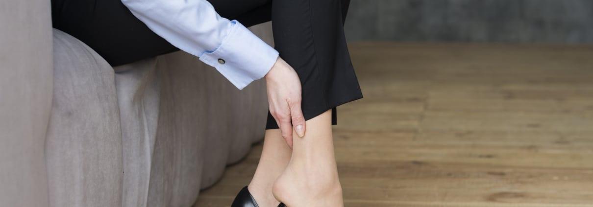 High heels pain